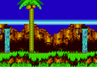 The Leaf Forest Zone Sonic 3 Knuckles Backgrounds