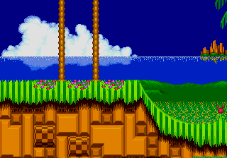 The Leaf Forest Zone Sonic 2 Backgrounds